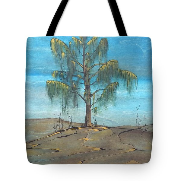 The Feather Tree Tote Bag