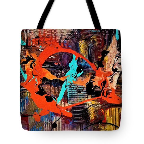 The Feathery Blur Of Before Tote Bag