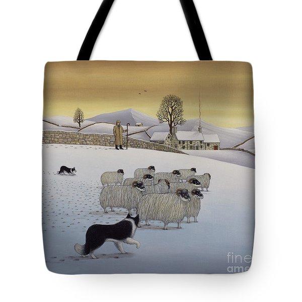 The Fells In Winter Tote Bag