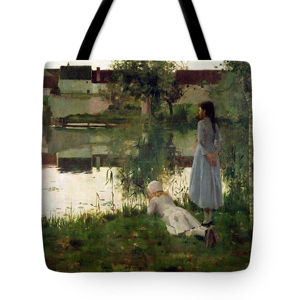 The Ferry Tote Bag by William Stott