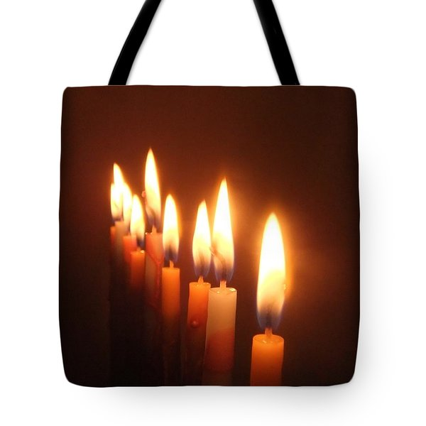 Tote Bag featuring the photograph The Festival Of Lights by Annemeet Hasidi- van der Leij