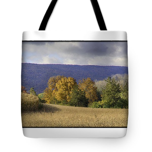 The Field Tote Bag by R Thomas Berner