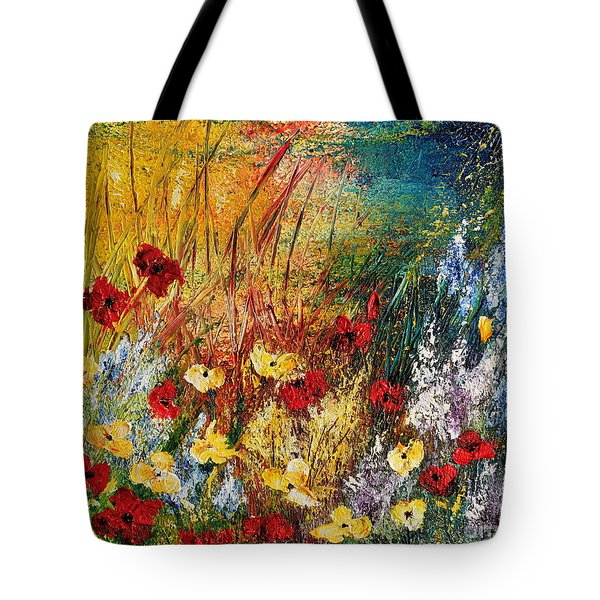 The Field Tote Bag by Teresa Wegrzyn