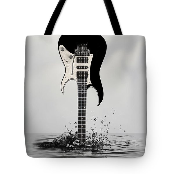 Tote Bag featuring the digital art The Final Cut by Angel Jesus De la Fuente
