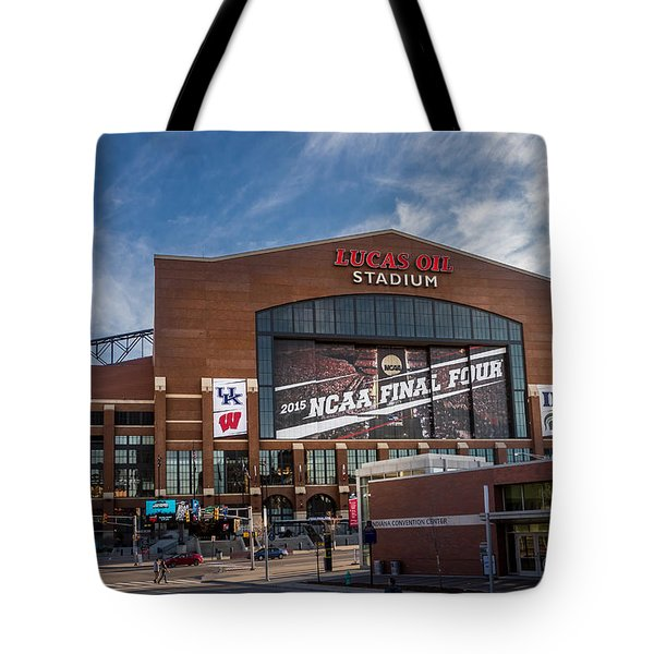 Tote Bag featuring the photograph The Final Four 2015 by Ron Pate