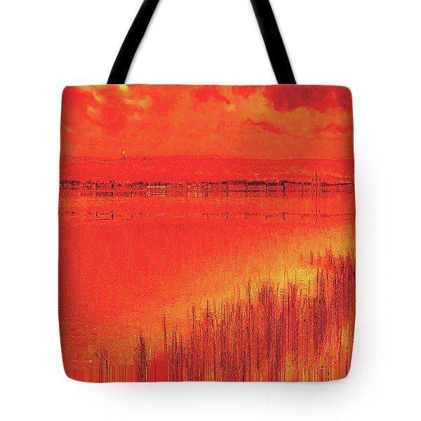 Tote Bag featuring the digital art The Final Paragraph by Wendy J St Christopher