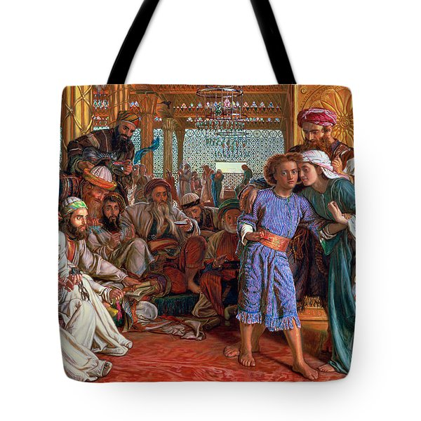 The Finding Of The Savior In The Temple Tote Bag
