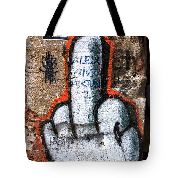 The Finger Tote Bag