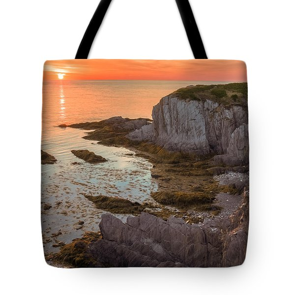 Nova Scotian Sunset Tote Bag