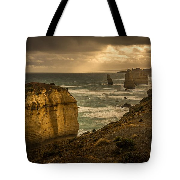 Tote Bag featuring the photograph The Fire Sky by Andrew Matwijec