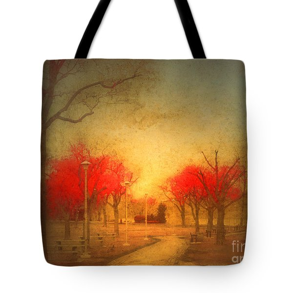 The Fire Trees Tote Bag