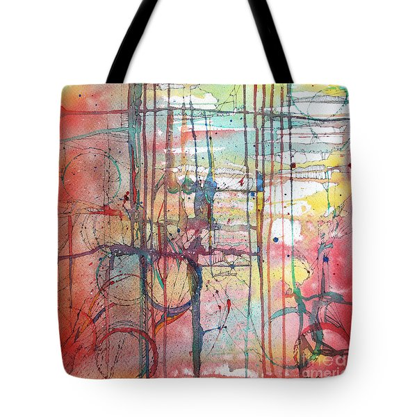 The Fire Within Tote Bag by Rebecca Davis