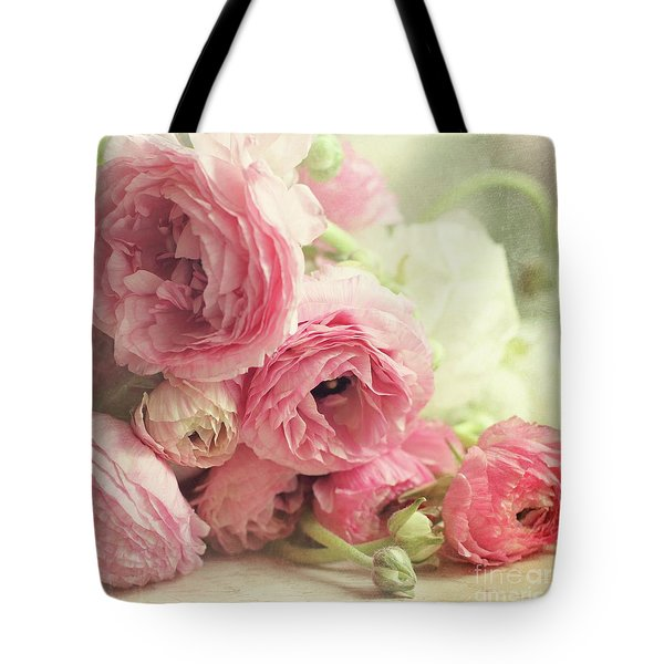 Tote Bag featuring the photograph The First Bouquet by Sylvia Cook