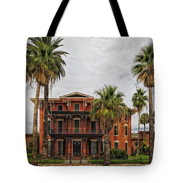 The First Brick House Of Texas - Ashton Villa Galveston Tote Bag
