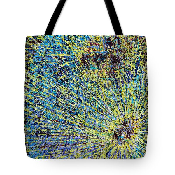 The First Christmas Tote Bag by Patrick J Murphy