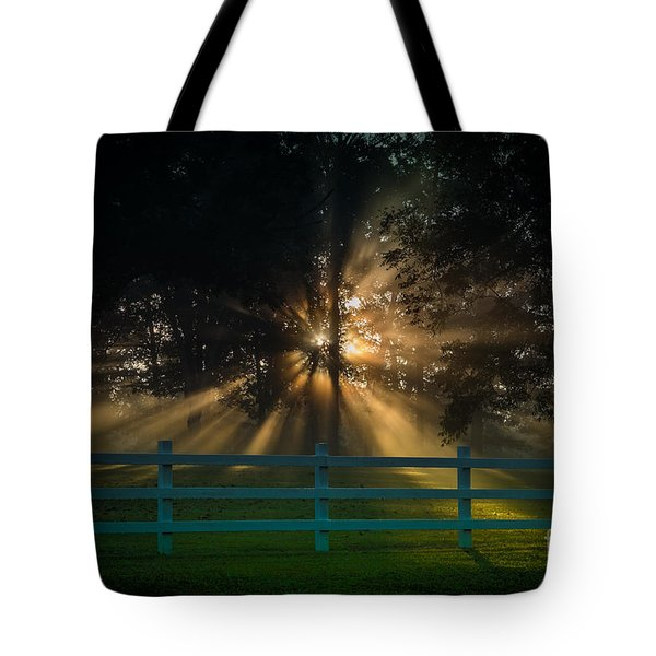 The First Day Of Creation Tote Bag