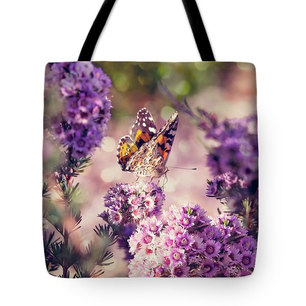 Tote Bag featuring the photograph The First Day Of Summer by Linda Lees