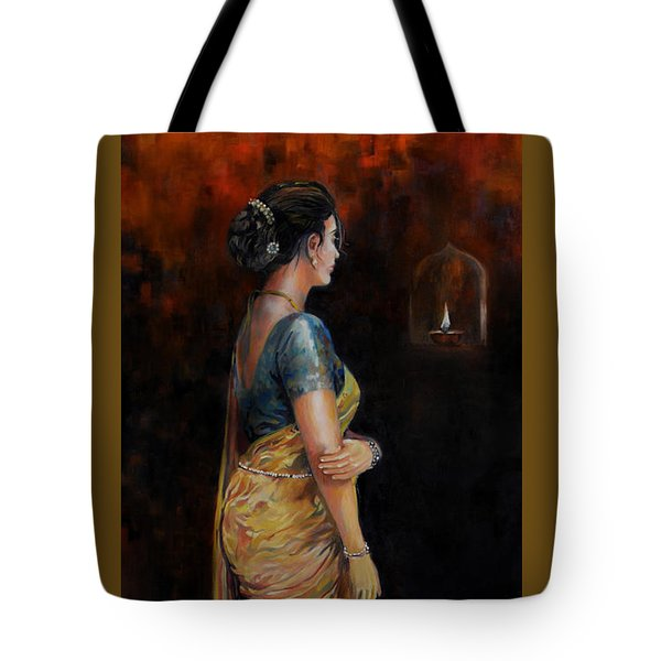 The First Diwali Tote Bag