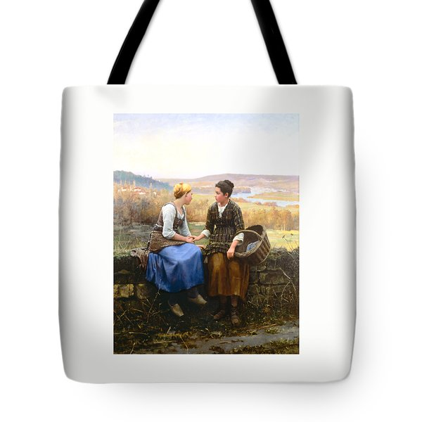 Tote Bag featuring the painting The First Grief by Celestial Images