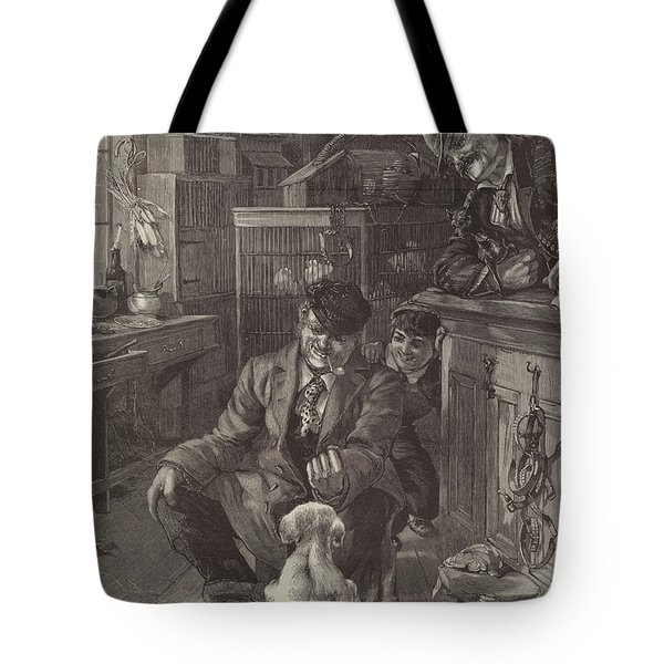 The First Lesson Tote Bag