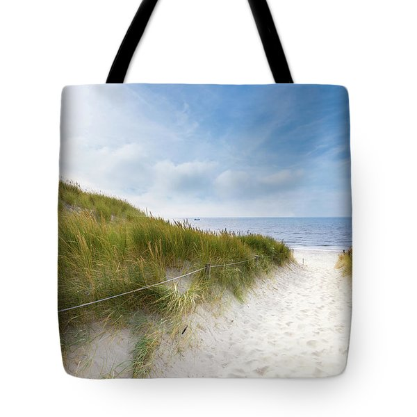 The First Look At The Sea Tote Bag