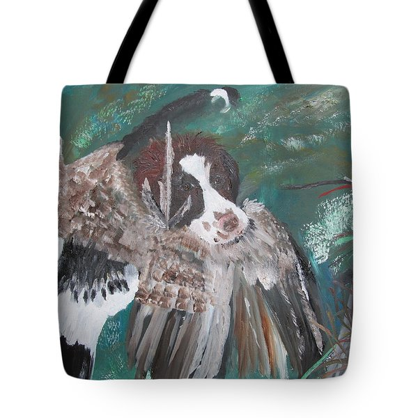 The First Retrieve Tote Bag