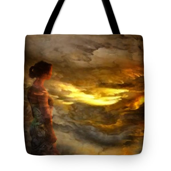 The First Step Tote Bag