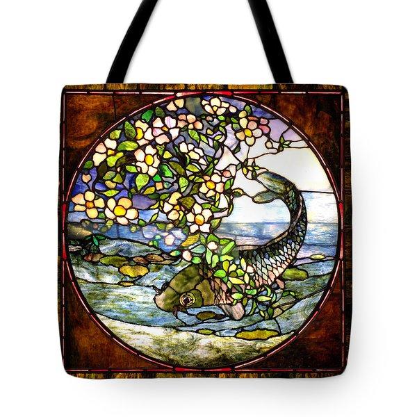 The Fish Tote Bag by Joseph Skompski