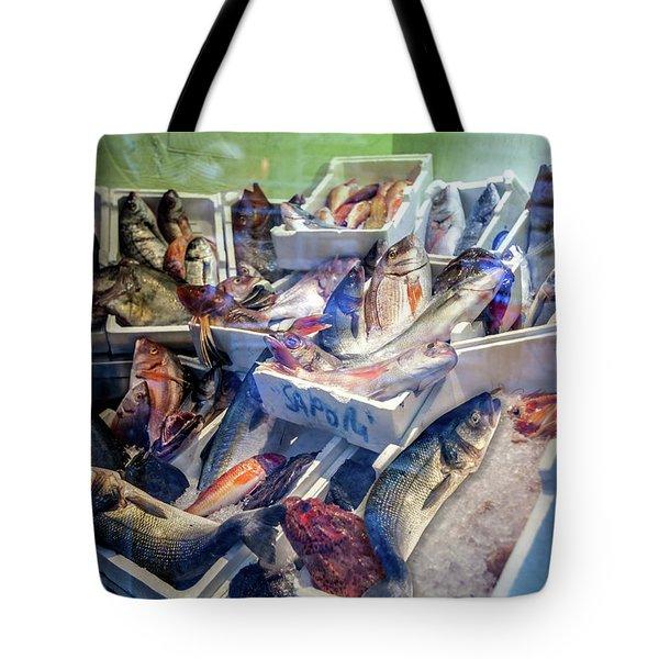 The Fish Market Tote Bag