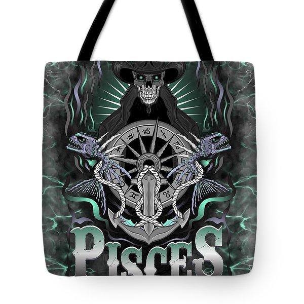 The Fish Pisces Spirit Tote Bag
