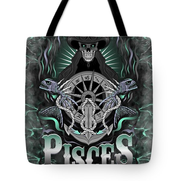 The Fish Pisces Spirit Tote Bag