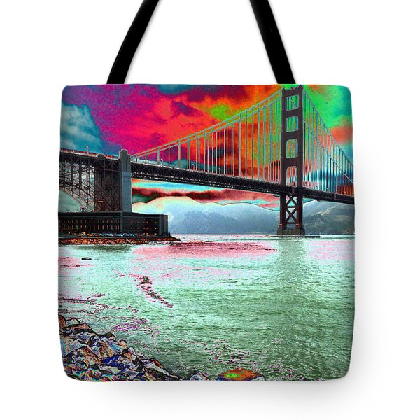 The Fisher  Tote Bag