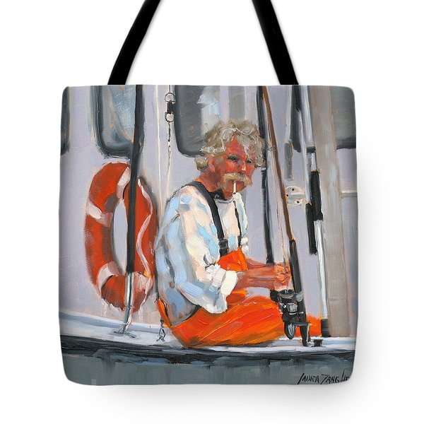 The Fisherman Tote Bag by Laura Lee Zanghetti