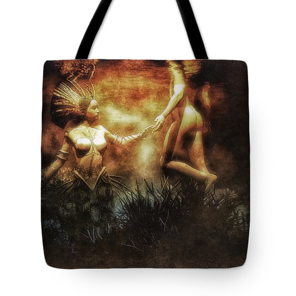 The Fishermen And His Soul Tote Bag by Bob Orsillo
