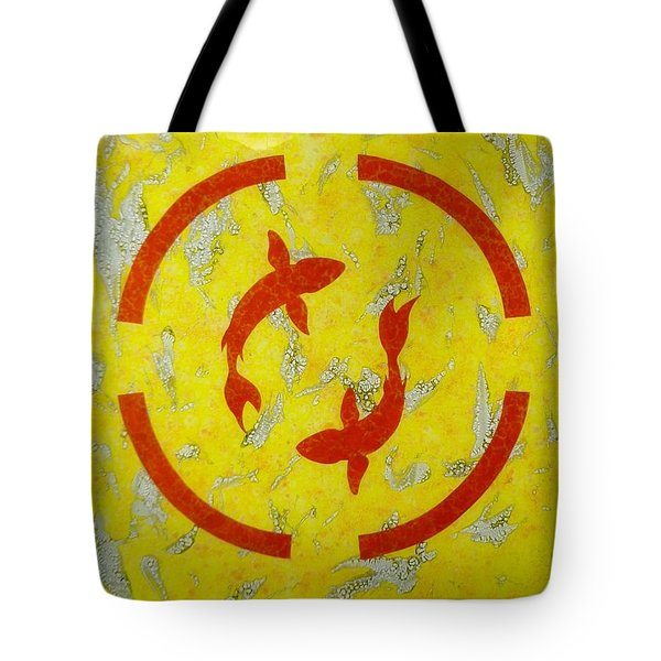 The Fishes Tote Bag