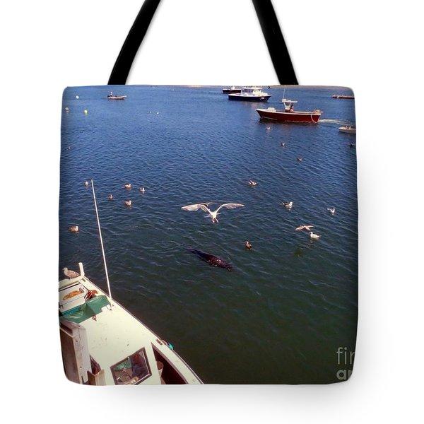 The Fishing Docks Tote Bag