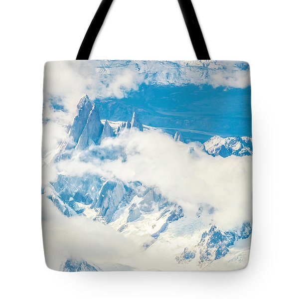 Tote Bag featuring the photograph The Fitz Roy by Andrew Matwijec