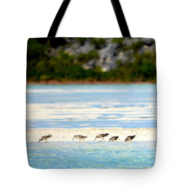 The Five Sandpipers Tote Bag