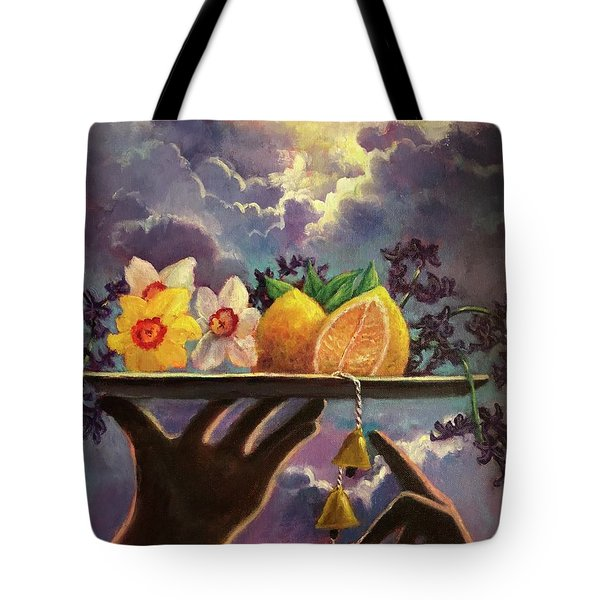 The Five Senses Tote Bag