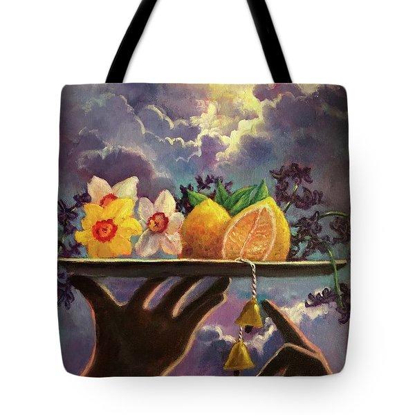 The Five Senses Tote Bag