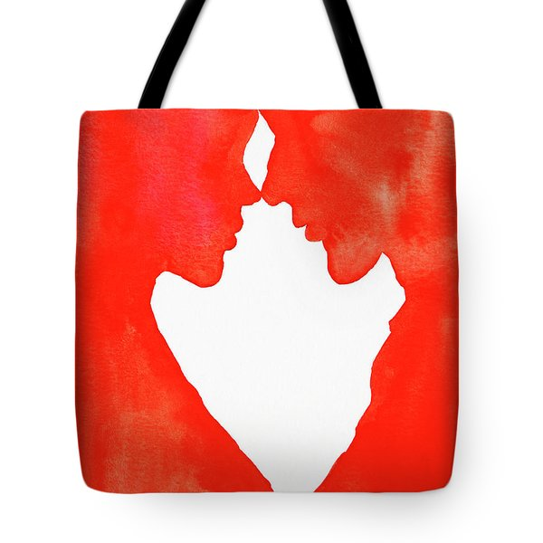 The Flame Of Love Tote Bag