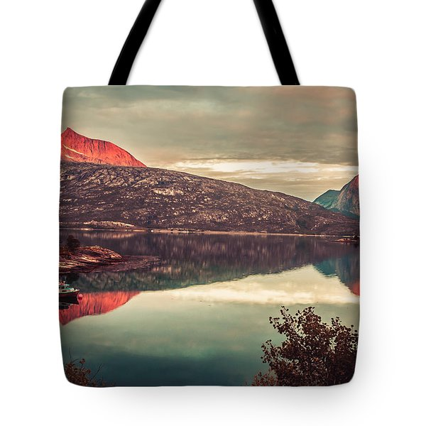 The Flames Tote Bag