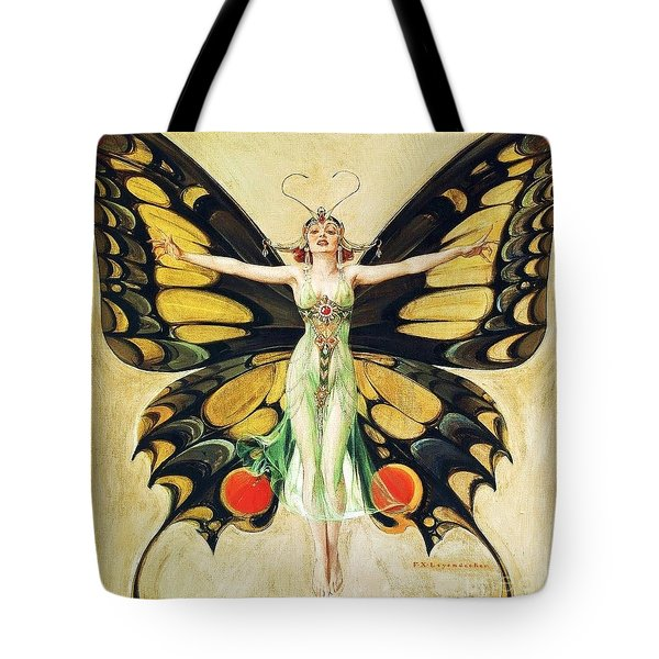 The Flapper Tote Bag by Pg Reproductions