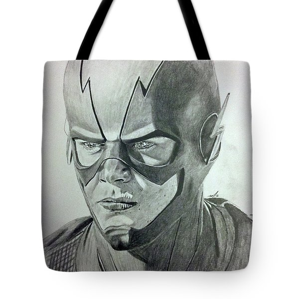 The Flash Tote Bag by Michael McKenzie