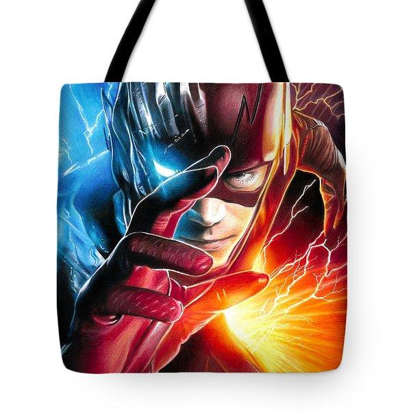 The Flash / Savitar / God Of Speed Tote Bag