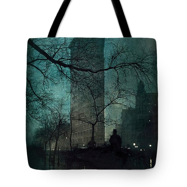 The Flatiron Building Tote Bag