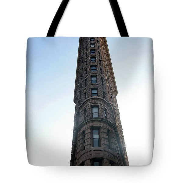 Tote Bag featuring the photograph The Flatiron - Manhattan by Madeline Ellis