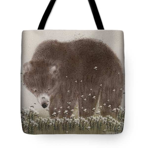 The Flight Of The Bumble Bee Tote Bag