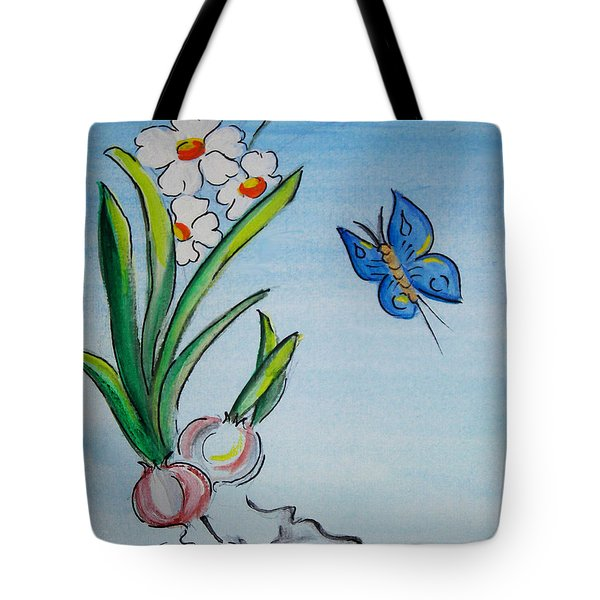 The Flight Of The Butterfly Tote Bag