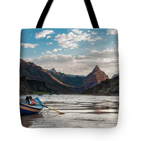 Tote Bag featuring the photograph The Float Out by Britt Runyon